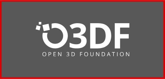 Open 3D Foundation logo